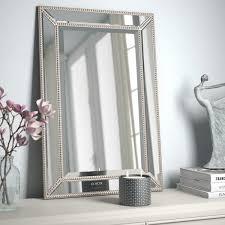 venetian beaded mirror wayfair