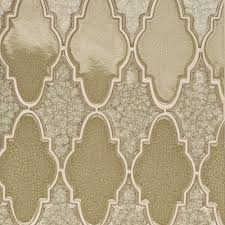 iced tan arabesque gl mosaic tile