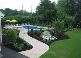 48 Suitable Plants Grow Beside Swimming Pool Rengusuk Com Inground Pool Landscaping Pool Fencing Landscaping Landscaping Around Pool