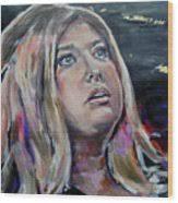 Lisa Martin - Its Adele Wood Print by Lucia Hoogervorst