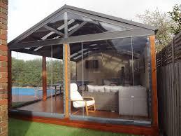 enclosed outdoor patio luxury enclosing