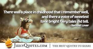childhood memory quote picture