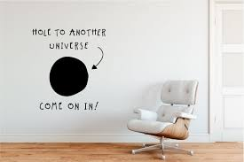 Hole To Another Universe Quality Handmade Wall Decal Sticker Etsy