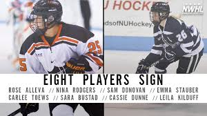 Princeton's Rose Alleva, UNH's Carlee Toews Among Eight Players Signed for  Upcoming Season - NWHL