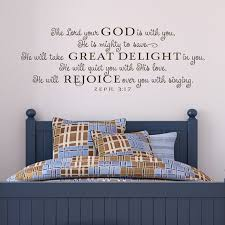Vinyl Wall Decal Wall Sticker The Lord By Oldbarnrescuecompany 52 00 Boy Room Wall Decor Vinyl Wall Decals Wall Decor Quotes