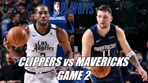 NBA Playoffs Dallas Mavericks vs LA Clippers Live Stream Game 2 ...