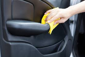 how to clean car interior leather