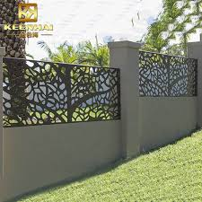 Decorative Laser Cut Metal Fence Panels For Garden View Metal Fence Panels Keenhai Product Details From Foshan Keenhai Metal Products Co Ltd On Alibaba Com
