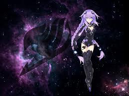 purple anime desktop background