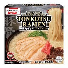 ajinomoto tonkotsu ramen with chashu 9