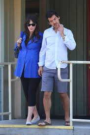 pregnant Zooey Deschanel and Jacob Pechenik Step out in LA - Growing Your  Baby