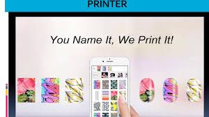 mobile nail printer and nail
