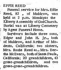 Effie Reed - Newspapers.com