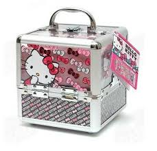o kitty train cosmetics case for