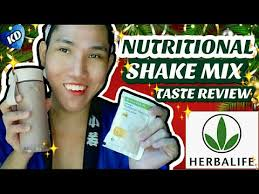 herbalife nutritional shake mix french