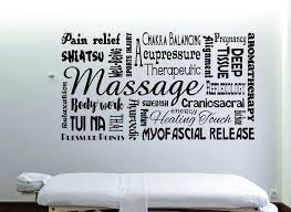 Massage Wall Decal Spa Decor Massage Therapy Spa Wall Decal Massage Therapist Gift Massage Decor Spa Wall Art Massage Decal
