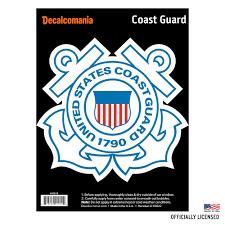 United States Coast Guard Military Logo Car Auto Sticker Decal For Trucks Vehicles Laptop Walmart Com Walmart Com