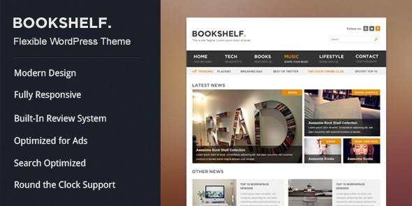 MyThemeShop BookShelf WordPress Theme