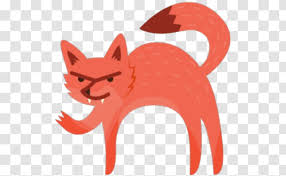 Sticker Red Fox Wall Decal Facebook Messenger Emoji Transparent Png