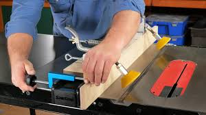 Make Safer Rip Cuts On A Table Saw With Feed Rollers The Woodsmith Store