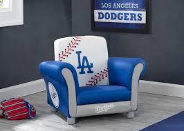 Los Angeles Dodgers Kids Upholstered Chair Delta Children