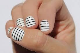 striped nail art archives nail