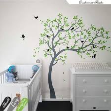 Large Tree Wall Decals Nursery Tree Wall Sticker Kids Room Etsy