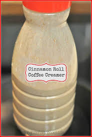 cinnamon roll coffee creamer the