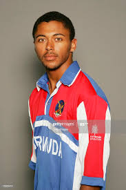 A headshot of Stefan Kelly of Bermuda taken during the ICC Tri-Series...  News Photo - Getty Images