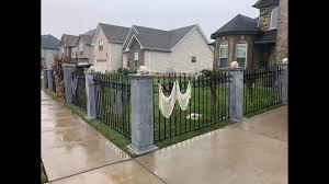 Diy Halloween Cemetery Fence Youtube