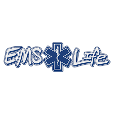Ems Life With Star Of Life Window Banner Decal