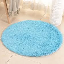 Dodoing Ultra Soft Round Fluffy Area Rug For Girls Bedroom Anti Slip Kids Nursery Carpet Children Room Decor 3 Sizes And 9 Colors Walmart Com Walmart Com