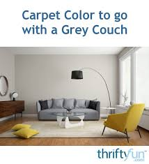 color to coordinate with a grey couch