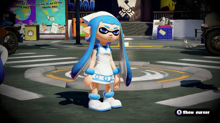 Squid Girl in Splatoon