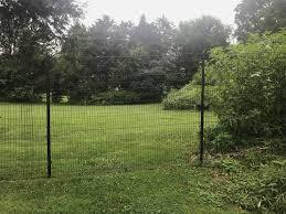 Metal Deer Fencing The Benner Deer Fence Company
