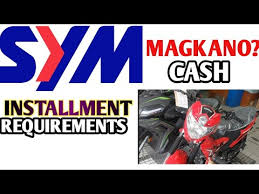sym motorcycle canving magkano