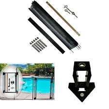 Pool Fence Diy By Life Saver Pool Fence 48 Foot Black Barrier Fence Self Closing Gate Drill Guide Bundle On Galleon Philippines