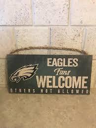 nfl philadelphia eagles fans welcome
