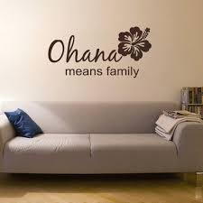 Buy Ohana Means Family Vinyl Wall Art Sticker Decal Quote Saying In Cheap Price On Alibaba Com