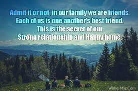 family messages to inspire family bond and relationship wishesmsg