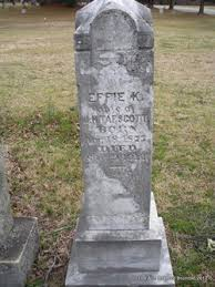 Effie King Tapscott (1877-1912) - Find A Grave Memorial