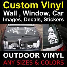 Custom Vinyl Decal Vinyl Stickers Logo Letters Numbers Name Etsy
