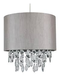 silver grey 250mm easy fit shade with