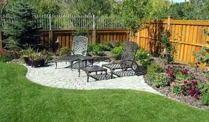 landscaping around fence ideas love