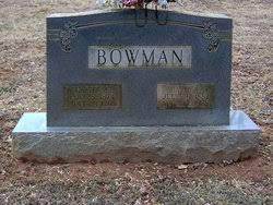 Carter Francis Bowman (1874-1968) - Find A Grave Memorial