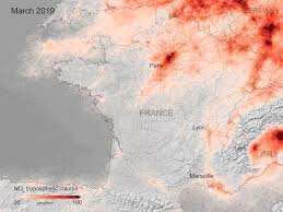 ESA - Coronavirus lockdown leading to drop in pollution across Europe
