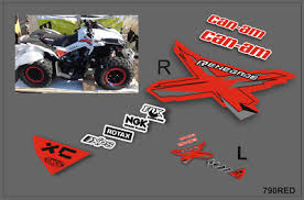Brp Can Am Renegade Decals Kit 2006 2018 790red 38 00 Picclick