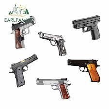 Earlfamily 13cm X 11 3cm For Kimber 1911 Rapide 10mm Pistol Fashion Graffiti Sticker Car Accessories Laptop Bumper Car Decals Car Stickers Aliexpress