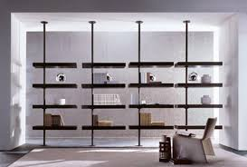 7 floating rotating shelving systems