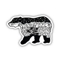 Stickers Northwest Bear Scene Sticker Dick S Sporting Goods